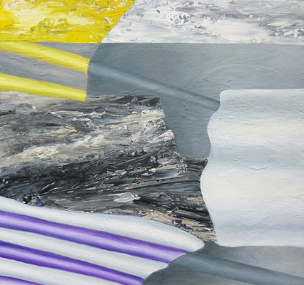 BohrungAcryl / Lwd. 70 x 65 cm 2016