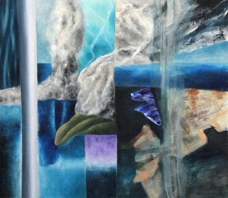 Territorien 6  Acryl / Lwd. 155 x 135 cm 2012