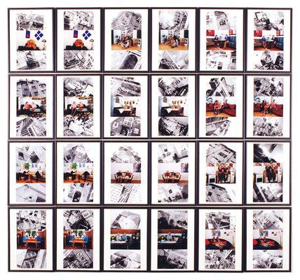 Paare 24-teilig Foto 125 x 125cm 2003