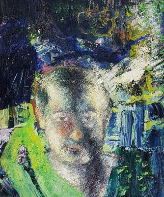 Porträt von S.  Öl/Lwd  50 x 60cm  1991