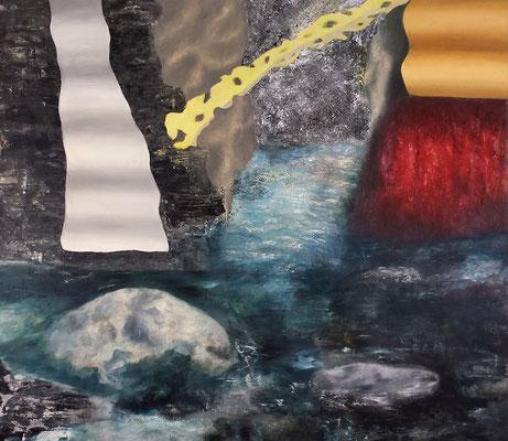 Stoffwechsel  Acryl / Lwd. 155 x 135 cm 2016