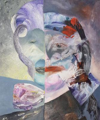 Bipolar II  Acryl/Lwd. je 80 x 95 cm 2018-2020