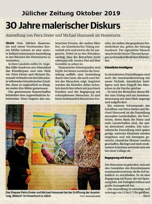 Jülicher Zeitung, Oktober 2019