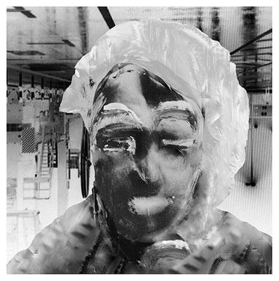 Gestern  Direktdruck auf Aludibond  50 x 50cm 2014