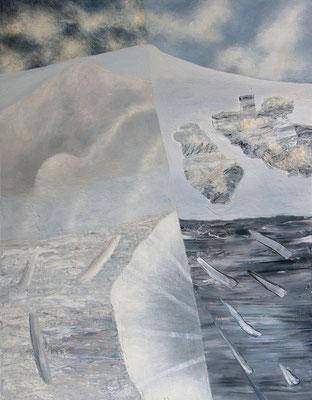 Genesis III   Acryl / Lwd. 90 x 115 cm 2014
