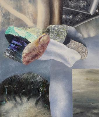 Sondierung I Acryl / Lwd. 80 x 95 cm 2016