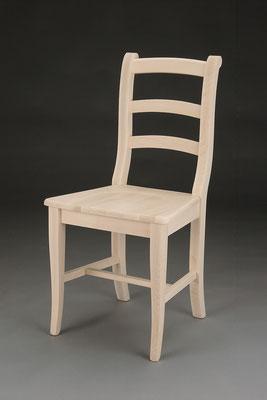 Stuhl Modell HC 405 in Buche! Maße 46 cm tief, 43 cm breit, 93 cm hoch, 47 cm Sitzhöhe