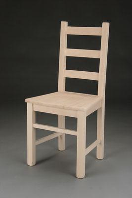 Stuhl Modell HC 345 in Buche! Maße 43 cm tief, 43 cm breit, 97 cm hoch, 47 cm Sitzhöhe