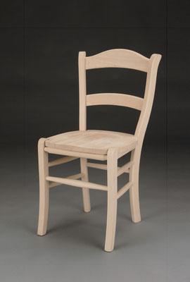 Stuhl Modell HC 380 in Buche! Maße 47 cm tief, 47 cm breit, 88 cm hoch, 48 cm Sitzhöhe