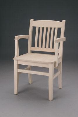 Stuhl Modell F 1 - A in Buche! Maße: 51 cm tief, 57 cm breit, 87 cm hoch, 47 cm Sitzhöhe
