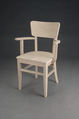 Stuhl Modell B 1152 -A  in Buche! Maße: 48 cm tief, 65 cm breit, 85 cm hoch, 45 cm Sitzhöhe