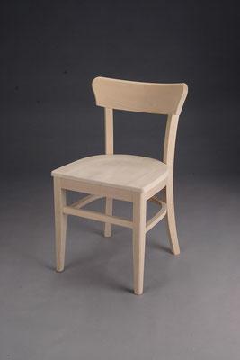 Stuhl Modell B 980 in Buche! Maße: 44 cm tief, 48 cm breit, 78 cm hoch, 46 cm Sitzhöhe