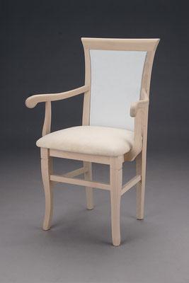 Stuhl Modell HC 510 in Buche! Maße 47 cm tief, 61 cm breit, 96 cm hoch, 51 cm Sitzhöhe, 70 cm Armlehnhöhe