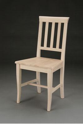 Stuhl Modell HC 543 in Buche! Maße 46 cm tief, 43 cm breit, 94 cm hoch, 47 cm Sitzhöhe