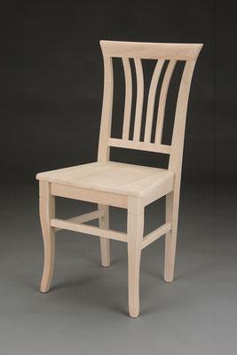 Stuhl Modell HC 542 in Buche! Maße 46 cm tief, 44 cm breit, 96 cm hoch, 49 cm Sitzhöhe