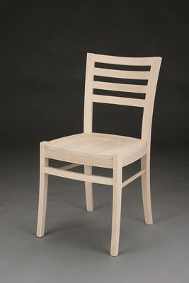 Stuhl Modell HC 404 in Buche! Maße 48 cm tief, 42 cm breit, 86 cm hoch, 46 cm Sitzhöhe