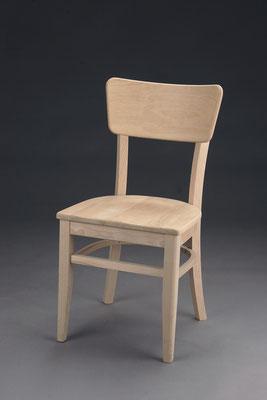 Stuhl Modell B 1152 in Buche! Maße: 48 cm tief, 42 cm breit, 85 cm hoch, 45 cm Sitzhöhe