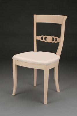 Stuhl Modell HC 835 in Buche! Maße 55 cm tief, 60 cm breit, 94 cm hoch, 51 cm Sitzhöhe
