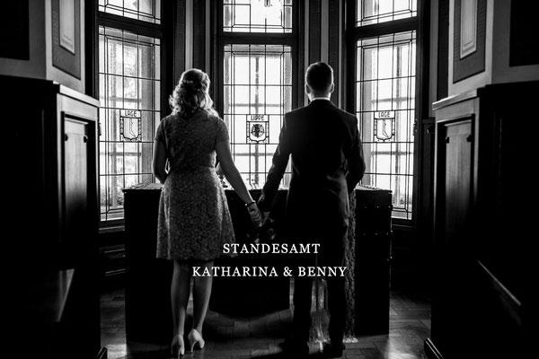 Katharina & Benny Standesamt