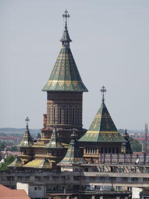 Toits de la cathédrale Metropolite