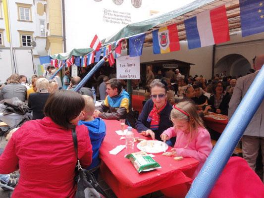 Marché Français 2012 : à table