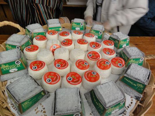 Marché Français 2012 : fromages