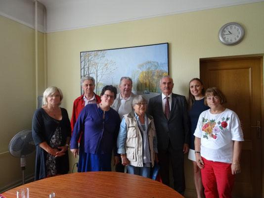 Réception de la délégation
