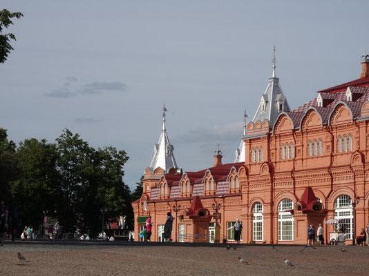 Le magasin général (épicerie) du monastère