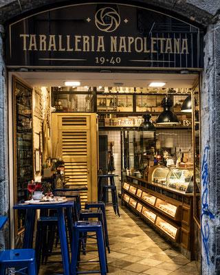 Taralleria Napolitana Naples Italy