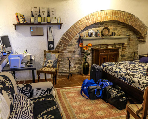 Accomodation in Montepulciano, Italy