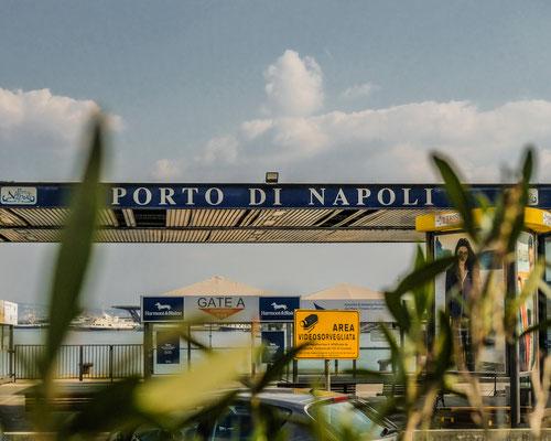 Porto di Napoli Naples Italy