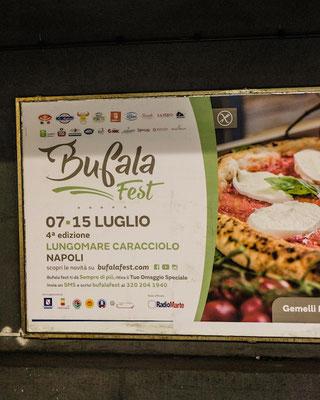 Festival di Buffala Napoli Italia Poster