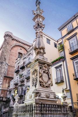 Monument Naples Italy