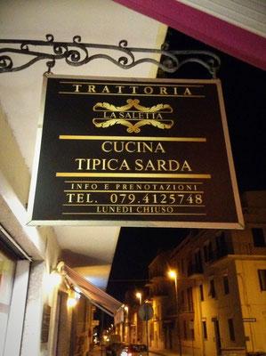 La Saletta Restaurant Alghero