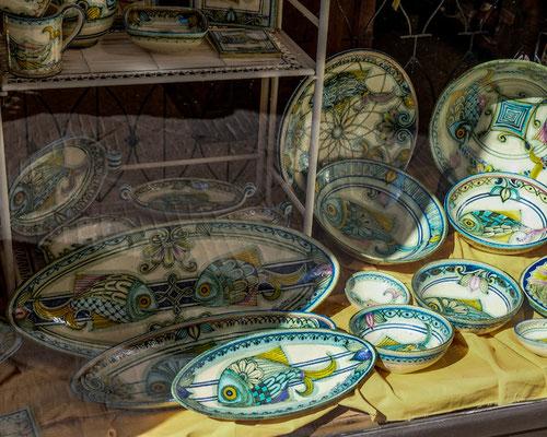 Ceramics Store Pienza, Italy