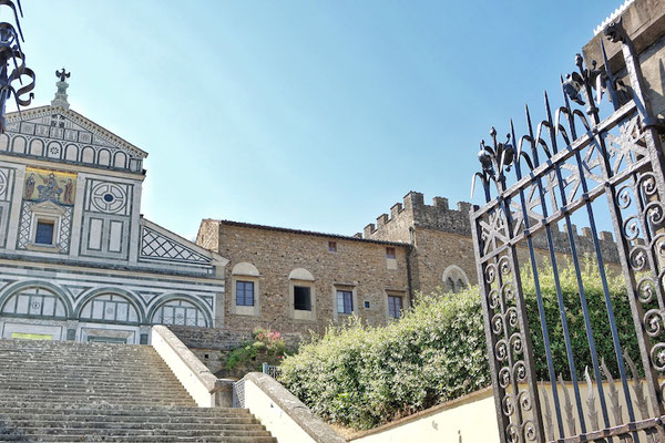 Church an Miniato al Monte Florence
