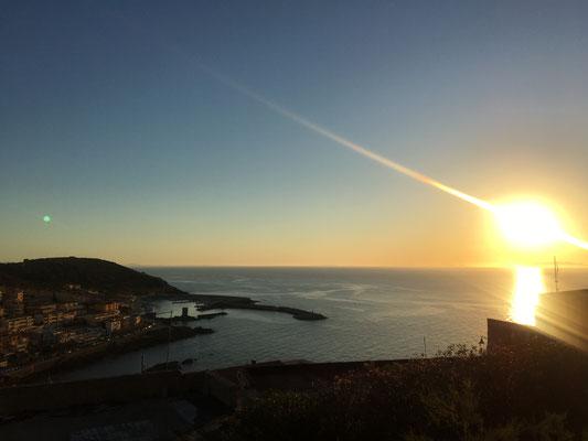 Sunset in Castelsardo