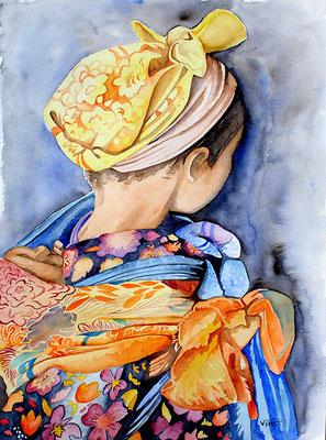 aquarelle Maroc 31X41