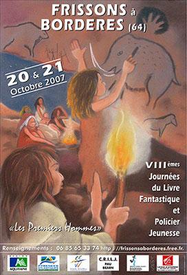 affiche salon du livre jeunesse 2007