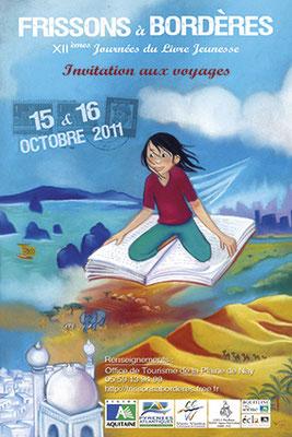 affiche salon du livre jeunesse 2011