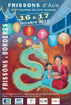 affiche salon du livre jeunesse 2010