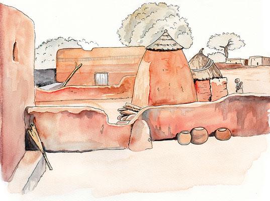 carnet de voyage Burkina-Faso