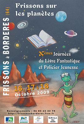 affiche salon du livre jeunesse 2009
