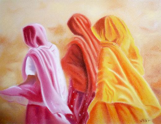 Sable -pastel 24x34- Inde