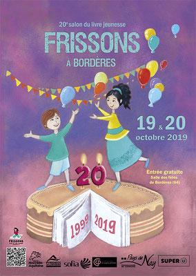 affiche salon du livre jeunesse 2019