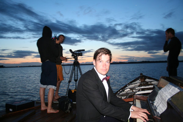 """Video Dreharbeiten """"DER UNTERGEHER"""" mit Danny Exnar 2009"""