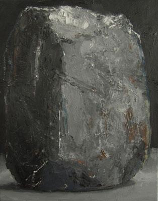 Zwarte steen - 2014 - 40 x 50cm - oil on canvas