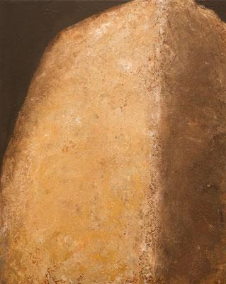 Steen (uit reeks) - 2016 - 80 x 100cm - oil on canvas