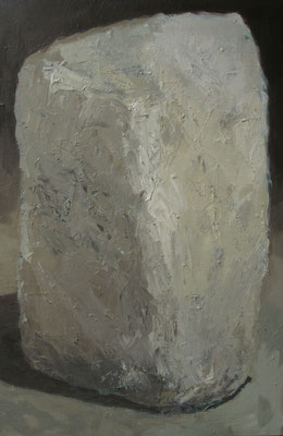Witte steen - 2012 - 66 x 100cm - oil on canvas