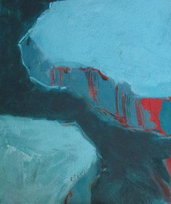Naderende vormen - 2007 - 50 x 60cm - oil on canvas